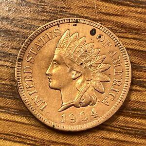 1904 Philadelphia Mint  Indian Head Cent