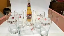 Redd's Apple Ale 16 oz Pub Glasses Brand New, Set of 6  Redds Bar Collector