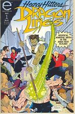 1993 Heavy Hitters Dragon Lines #1 ( Martial Arts Meets Hi-Tech ) Epic Comics