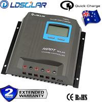 30A MPPT Solar Panel Regulator Charge Controller 12V/24V Auto Focus Tracking BU
