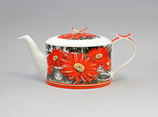 9952239 Porzellan Tee-Kanne Blume Gerbera Jameson&Tailor 1,2l H14cm
