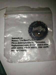 Budweiser AmberBock Light Up Pin