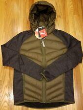 Puma Men's Sz M Double Knit Hybrid 600 Down Jacket Olive 592351 14 THESPOT917