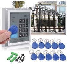 RFID Zugangskontrolle &10 Clips Türschloss Türöffner Digitale Codeschloss System