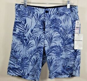 Tommy Bahama indigo shorts dockside blue size 32 inseam 9in.-$110 BRAND NEW TAGS