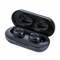 Mpow TWS Earpiece Bluetooth 5.0 Headset Earphone HiFi Stereo Earbuds Headphones