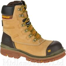 Caterpillar Safety Boots Premier Composite Toe Cap Waterproof Zip Side Combat
