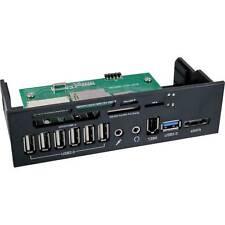 Frontpanel für DVD-Schacht, Cardreader, Audio,  1x eSATA / 1x USB 3.0 / 6x USB 2