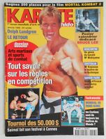►KARATE BUSHIDO n°253 - 1998 - DOLPH LUNDGREN - BRUCE LEE