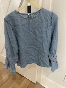 zara woman blouse shirt