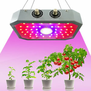 110W LED Plant Growing Lamps Full Spectrum Greenhouse Farming Garden Grow Lights