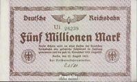 Deutsches Reich Pick-Nr: S1013d Inflationsgeld der Deutschen Reichsbahn Berlin b