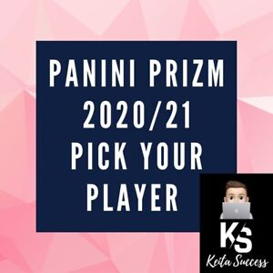 Pick Your Player Panini Premier League Prizm 2020/21 Base
