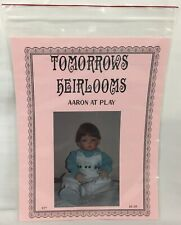 "Vtg Doll Clothes Sewing Pattern Outfit for 21"" Aaron at Play Tomorrows Heirlooms"