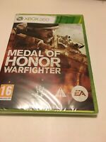 🤩 xbox 360 neuf blister  officiel pal fr medal of honor warfighter guerre jeu