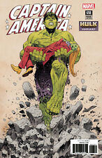 Captain America #698 Marvel Comic Book 2018 Bilquis Evely Hulk Variant Cover