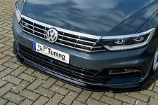 Sonderaktion Frontspoiler Cuplippe aus ABS für VW Passat 3G B8 R-Line mit ABE