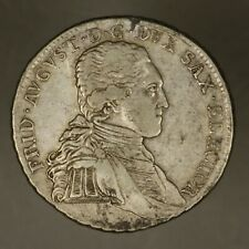 German State Saxony 1797 IEC 2/3 Thaler Great Details