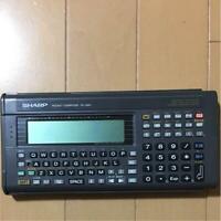 SHARP Pocket Computer PC-G801  C-LANGUAGE Z80 ASSEMBLER  Moving work