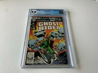 GHOST RIDER 65 CGC 9.8 WHITE PAGES COOL SKULL COVER MARVEL COMICS 1982
