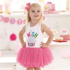 NEW Baby Girl's Size 2T WISH TUTU DRESS Perfect Birthday Dress