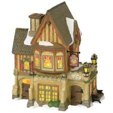 "Department 56 Dickens' Village Lit Building ""THE THREE LEMONS INN"" ~ # 6000584"