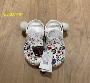 Disney Crocs Classic Cruella II Platform White EUR 39-40  UK M6 W7 US M7 W9