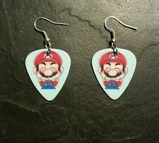 Nintendo Super Mario Brothers Guitar Pick Earrings Gift Set Video Game Gift