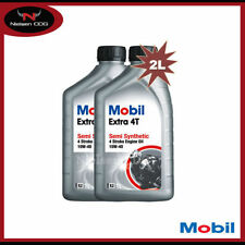 Mobil 4-Stroke Semi/Part Synthetic Vehicle Engine Oils