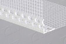 25 x uPVC corner meshed beads / angle bead / profile 2,5 METRE / 150 gms