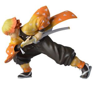 Anime Demon Slayer: Kimetsu No Yaiba Agatsuma Zenitsu 15cm Action Figure Kid Toy