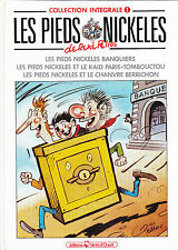 LES PIEDS NICKELES / COLLECTION INTEGRALE / RENE PELLOS / N° 1 .  TOME 1