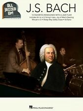 J.S. Bach All Jazzed Up! Sheet Music Piano Solo Book NEW 000151064