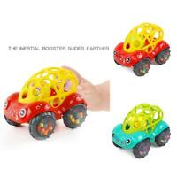 1pc Baby Rattles Car Teether Grab Toys Shaking Bell Rattle Car Gift for Baby