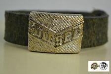 NEW Men's DIESEL Bracelet  DIESEL ABADE BRACCIALE Leather unisex Armband RRP£80