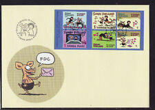 Finland 2003 FDC - Friendship, Cartoons  - with booklet