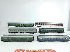 BB205-2# 6x H0 Bastler-Personenwagen etc: SBB CFF FFS+DR+DB (Fleischmann etc)