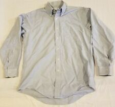 Brooks Brothers Original Polo Shirt Made in USA Button Up-Down-front L/S 15-33