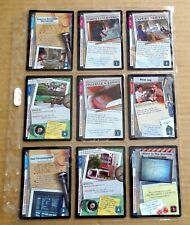 THE X-FILES PREMIERE EDITION CCG/TCG SLEEVE OF 9 x COMMON CARDS  NEW/1996  (C)
