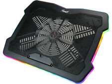17 Inch RGB Gaming Laptop Cooler with 5 RGB Modes and Adjustable Fan Speed