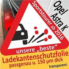 Opel Astra K Sports Tourer Ladekantenschutz Lackschutzfolie Auto Schutzfolie