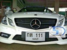 Mercedes Benz  W207 E350 E550 COUPE Grille Grill  MATT BLACK AMG 2pcs Matte NEW