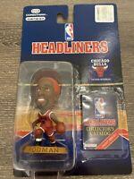 1996 Dennis Rodman Chicago Bulls Corinthian Headliners NBA Basketball Red