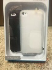 Belkin Grip Covers For iPod Touch 4 - New In Box 2 Covers White & Black