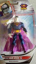 "total heroes BIZARRO 6"" ACTION FIGURE Mattel 2014 NISB NISB"