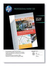 HP PROFESSIONALE (A3) 120g/M2 OPACA getto inchiostro carta (bianco) 1