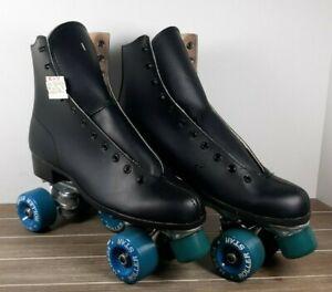 Labeda Roller Star black Leather Roller derby Size 9 mens  Roller Skates