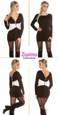Vestidos de mujer Mini color principal negro de poliamida