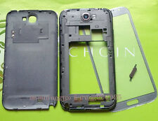 -Samsung Galaxy Note 2 N7100 N7105 I317 Housing Middle Frame Battery Cover+Glass