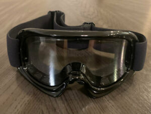 Racing Sports Motocross Motorsport Off-road Paintball Goggles Youth Kid - Black